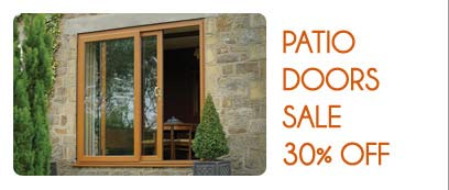 Promotions - PATIO DOORS SALE
