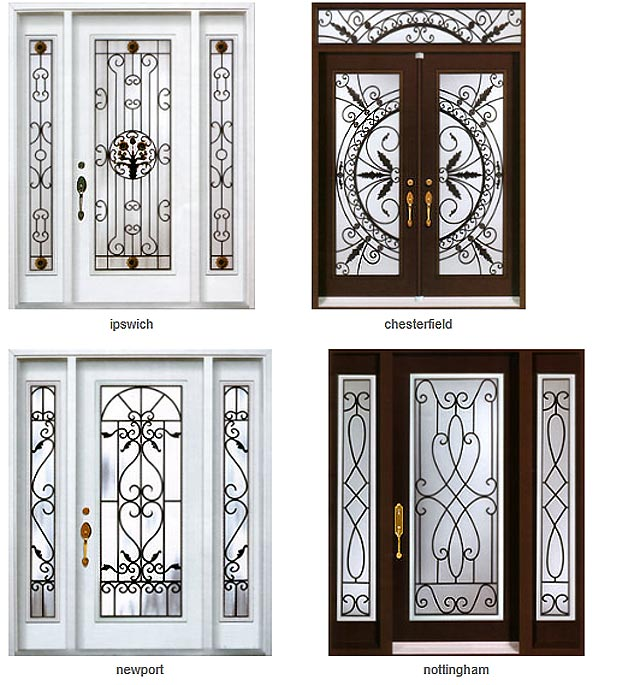 Steel entry doors total home windows and doors for Iron window design house