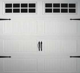 garage door Grooved Ranch Panel
