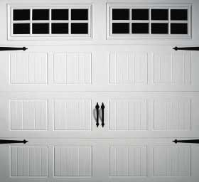 garage door Grooved Panel