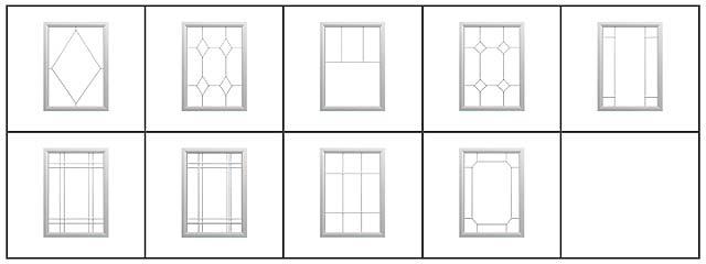 Design Options grid