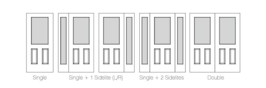 Configuration for Exterior Door