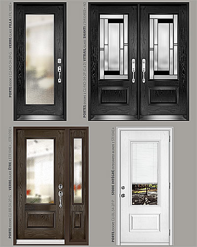 TH Windows and Doors Toronto | Glass Design Fiberglass Doors