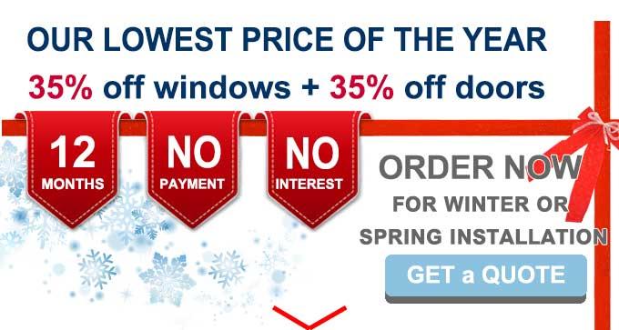WINDOW REPLACEMENT & DOOR INSTALLATION TORONTO COMPANY