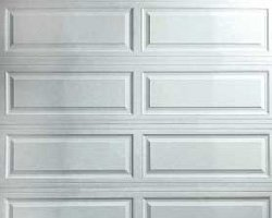 Raised Ranch Panel Garage Doors